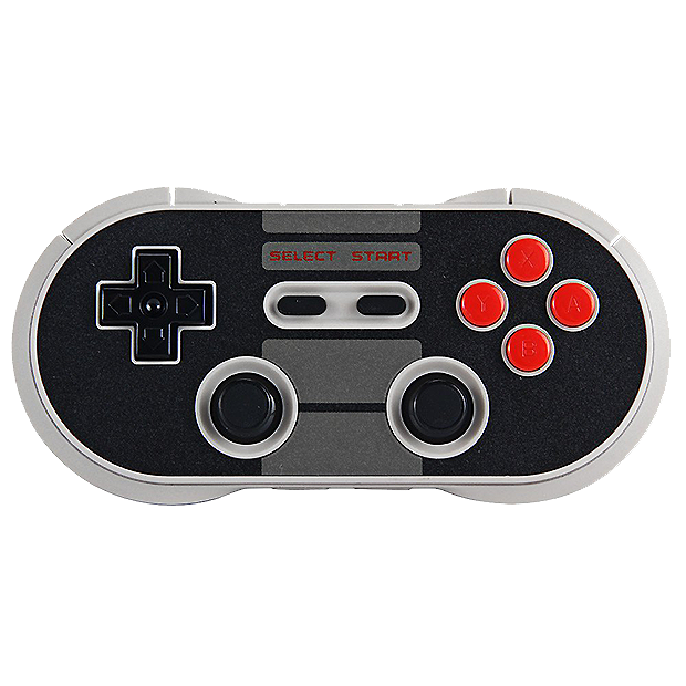 SWI 8Bitdo NES 30 PRO Wireless Bluetooth Gamepad.