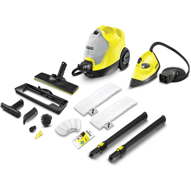KARCHER SC 4 Steam Cleaner + Steam Iron Kit