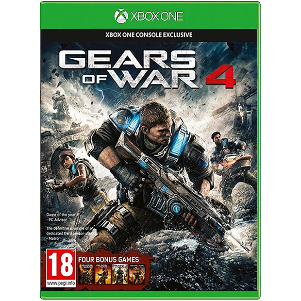 XBOX One Gears of War 4 (PAL Import)