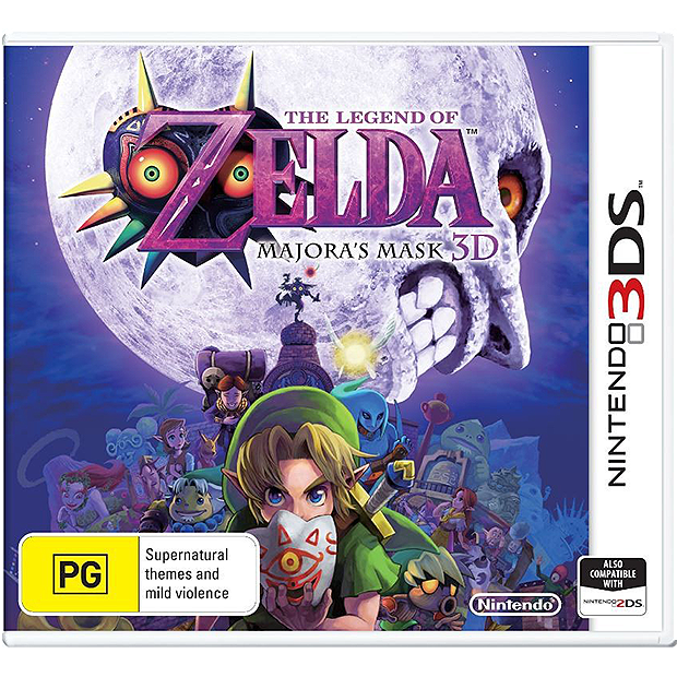 3DS Nintendo The Legend of Zelda Majoras Mask 3D
