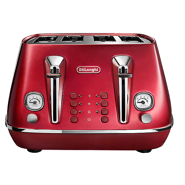 DELONGHI Distinta Flair 4 Slice Toaster Finesse -CTI4003