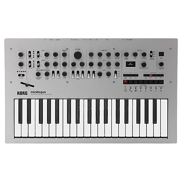 Korg Minilogue Polyphonic Analogue Synthesizer- KOR-MINILOGUE