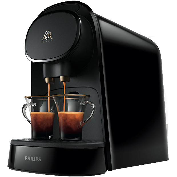 Philips LOR Piano Noir Barista Capsule Machine-LM8012/60