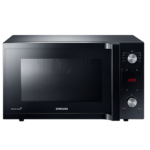 Samsung 45L Black Stainless Steel Convection Microwave- MC455THRCBB