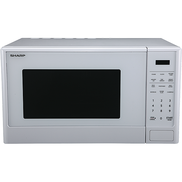 Sharp  White Mid Size Microwave oven-R 330E