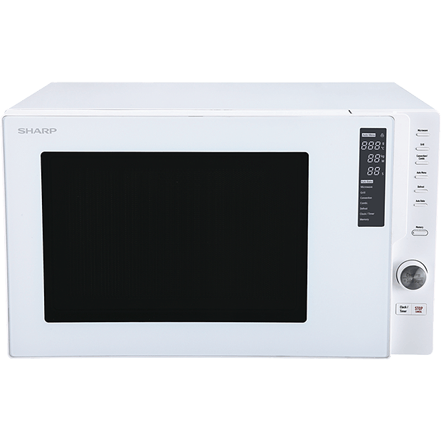 Sharp 900W Convection Fan Forced Microwave-R820EW