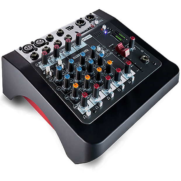 Allen & Heath's  8 channel Hybrid compact mixer / USB interface- ZEDi-8